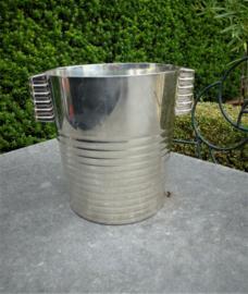 Verzilverde Champagne koeler Luc Lanel voor Christofle uit 1932  no 250