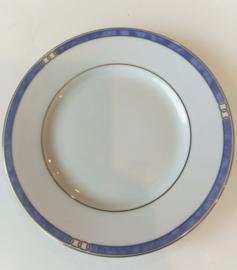 Christofle eet en ontbijtsrvies model Alliance Blue van Christofle nog nieuw in originele dozen