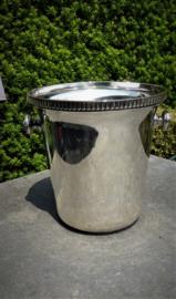 Schitterende oude verzilverde Wiskemann  champagne koeler   n0 220