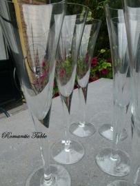 Antieke Art Deco champagne - Proseccoflutes