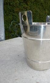 Oude verzilverde champagnekoeler no 329