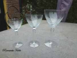 Antiek glasservies
