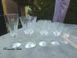 Antiek glasservies  - D7