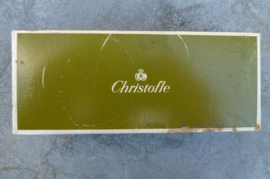 Zwaar verzilverd Christofle Marly bestek met opdienbestek  no  2009