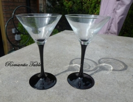Oude  Art Deco champagne coupes