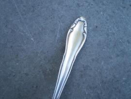 Antieke zwaar verzilverde  soezen - petit four schep