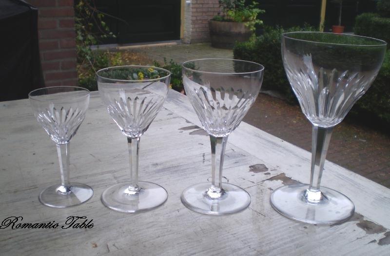 Kristalunie Maastricht servies ontwerp W.J.Rozendaal decor Nymphea VERKOCHT