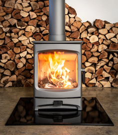 Charnwood Aire 5 mat zwart 3-7kw