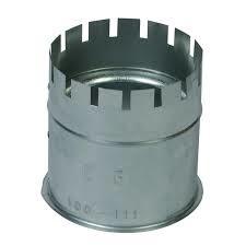 Nisbus gegalvaniseerd Ø 110-111 mm
