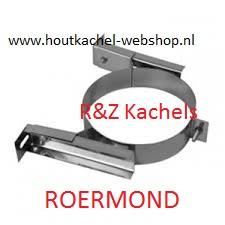 Muurbeugel Regelbaar 5-20cm RVS 100-150mm.RS13.0