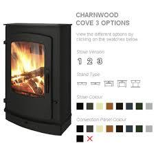 Charnwood Cove 3 ,  mat zwart  7-16KW