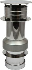 Holetherm concentrisch dakdoorvoer Ø130 - 200mm