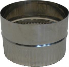 RVS EW Ø110mm - Koppelstuk