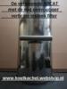 ABCAT rookgasfilter diam. 125mm lengte 50cm RVS
