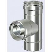 Solinox DW T-stuk 90graden+dop condens diam.200-250mm.RS08.0