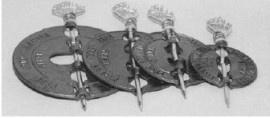 Klepsleutel voor 125 mm pijp