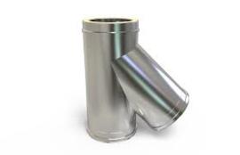 Solinox DW T-stuk 135graden+dop condens 200-250mm.RS09.0
