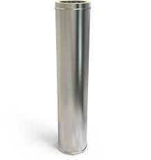 Solinox Dubbelwandige pijp RVS 100-150mm