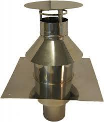 concentrisch dakdoorvoer Ø130 - 200mm t.b.v.Flex Ø 125mm.RZH.dwl.0040