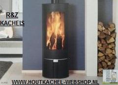 Olympia Auris Houtkachel 3-9 KW zwart/ Antraciet