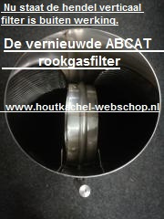 ABCAT rookgasfilter LENGTE 0,5 meter  Ø150mm.(Katalysator)RH42