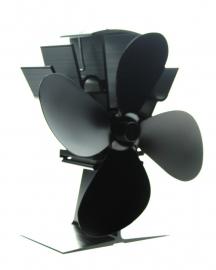 Super ventilator voor op de kachel