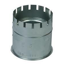 Nisbus gegalvaniseerd diam.100-111mm voor 0,6/0,8mm dikte van pijpen RZD.0140752