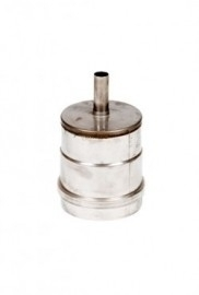 EW 80mm. dop met condensafvoer