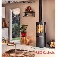 Aduro H1 Combi Holz- & Pelletofen zusammen. Heizleistung 3-9 KW