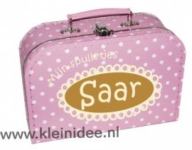 Koffertje  Ovaal Saar