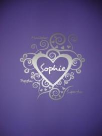 Sticker krulhart Sophie