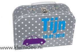 Koffertje Auto Tijn
