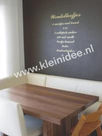 wentelteefjes recept (lettertype commercial script)