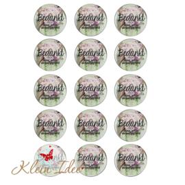 A4 vel met stickers