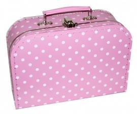 Koffertje zonder bedrukking 25x18x9cm