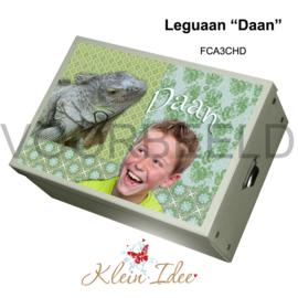 """Geboortedoos """"Leguaan Daan"""" FCA3CHD"""
