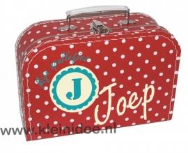 Koffertje  Rozet Joep
