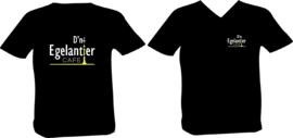 T-shirt bedrukking D'n Egelantier