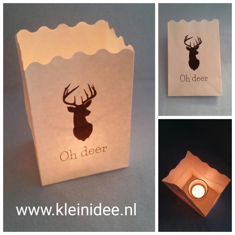 """Lichtzakje """"Oh Deer"""""""