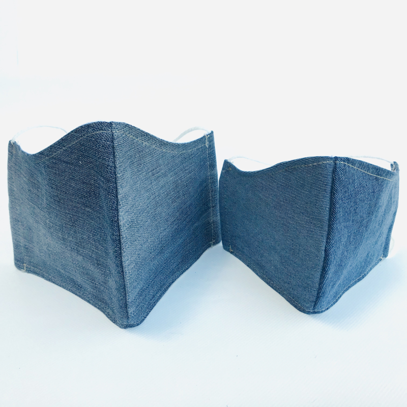 Mondkapjes  Limited Edition denim Lost&Found