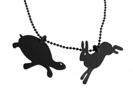 Necklace The Hare and the Tortoise