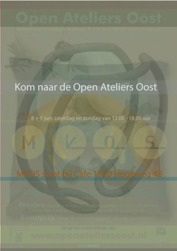 OPEN ATELIERS OOST 2013