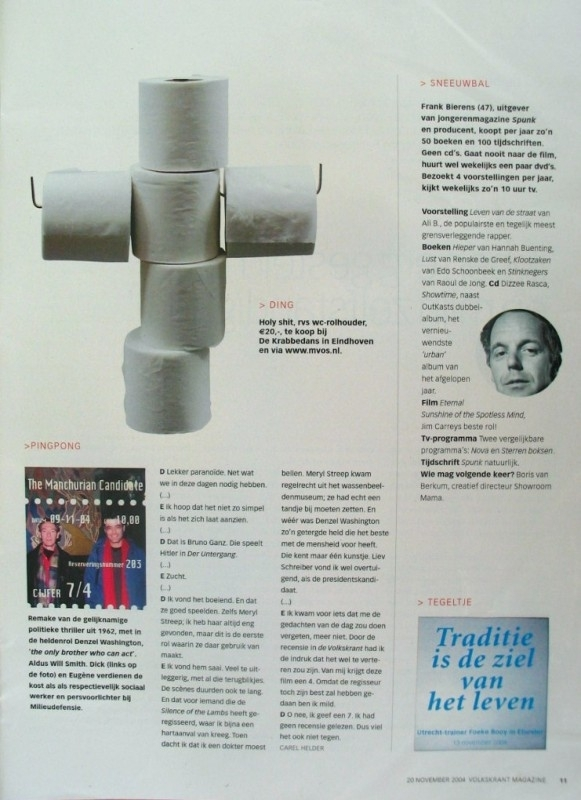 VOLKSKRANT ( Holland)