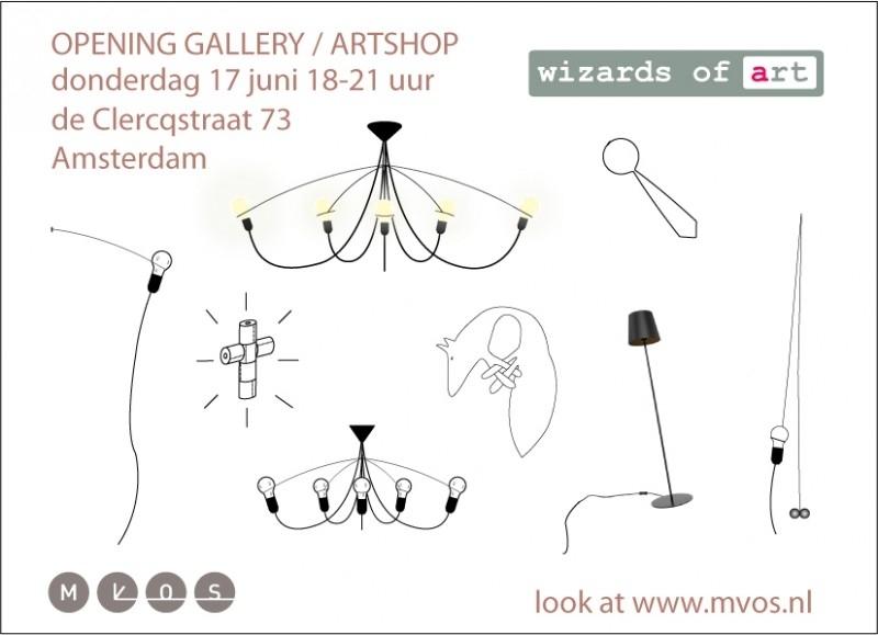 OPENING GALLERY WIZARDS OF ART