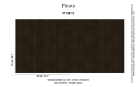 Élitis Pleats behang Arts & Craft TP 18012