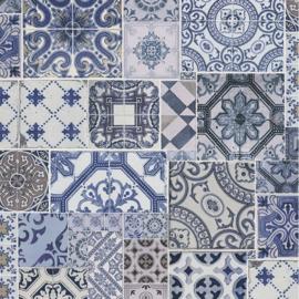 Dutch Collage Marokkaanse Tegels behang 42506-10