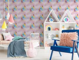 Noordwand Kids@Home Inidvidual behang Pretty As A Princess 70-232