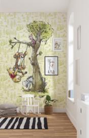 Disney Fotobehang Winnie Pooh in the wood DX4-017