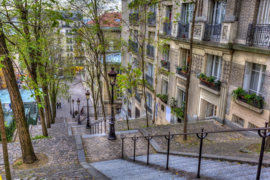Papermoon Fotobehang Montmartre in Paris 97064