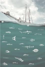 Eijffinger Wallpower Junior 364141 Deep Sea Green